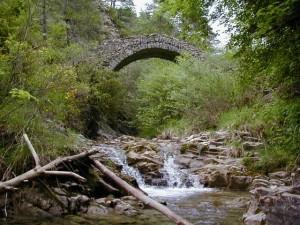 Pont style genois 8m de long et 4m de haut