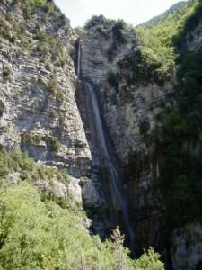 La cascade de 70 mètres
